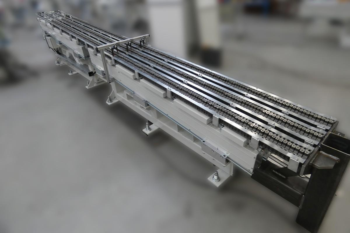 linear conveyors being used by Köberlein & Seigert